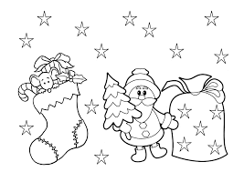coloring pages kids printable kids christmas coloring pages and