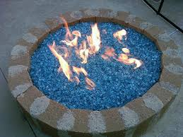 Glass Firepits Pits Glass Stones Design And Ideas