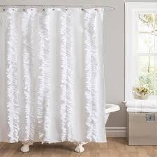 Gray Ruffle Shower Curtain Urbanoutfitters Com U0026gt Bloomer Ruffle Shower Curtain