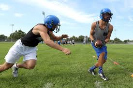 Hutch News Classifieds Photos Nickerson U0027s First Football Practice 2017 The Hutchinson