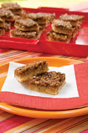 paula deen s best southern pecan pie bars so and