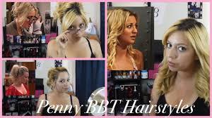 big bang pennys hair cut penny hairstyles the big bang theory youtube