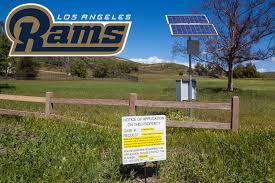Clu Campus Map La Rams Training Moving To Cal Lutheran Clu Sports