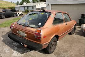 toyota tercel old parked cars 1981 toyota tercel hatchback
