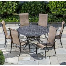 Aluminum Cast Patio Dining Sets - cast aluminum patio dining set with rectangular table ultimate