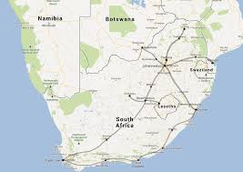 Pretoria South Africa Map by High Speed Rail In South Africa Too Costly To Consider Johan