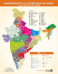 Map Of Punjab India by Office Of Development Commissioner Handicrafts