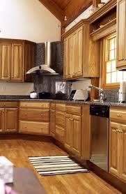 Stained Hickory Cabinets Pros And Cons Of Hickory Kitchen Cabinets Home Guides Sf Gate
