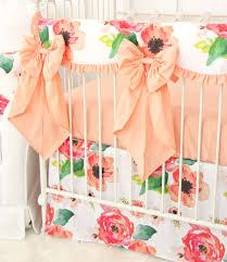 Ruffled Curtains Nursery by Boho Cactus And Floral Baby Bedding Boho Aztec Nursery