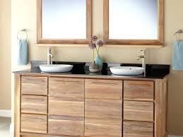 whitewash bathroom cabinets teak vessel sink vanity whitewash