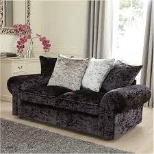 laurence llewleyn bowen scarpa 3 seater fabric sofa bed black grey