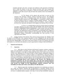 Commercial Lease Termination Agreement Exhibit101purchaseandsal