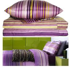 ikea duvet covers palmlilja striped 207tc duvet cover lilac cotton