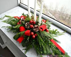 diy evergreen christmas centerpiece celebrate u0026 decorate