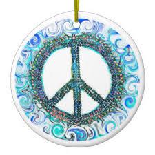 cool peace sign ornaments keepsake ornaments zazzle
