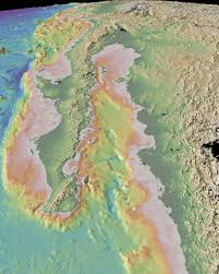 Map Of The Gulf Of Mexico by Geomapapp