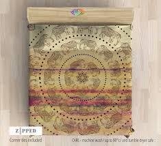 Indie Bedding Sets Bedding Bohemian Bedding Boho Duvet Cover Set Mandala Bedroom