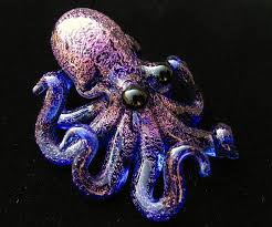 art glass octopus ring holder images Glass octopus jpg