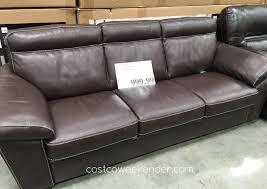 Oxford Leather Sofa Oxford Leather Sofa Costco Www Energywarden Net