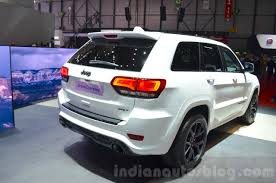 jeep grand cherokee 2016 2016 jeep grand cherokee srt night rear three quarter at the