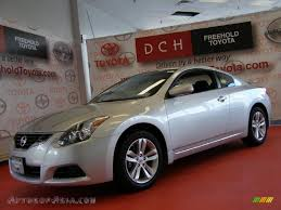 nissan coupe 2013 2010 nissan altima 2 5 s coupe in radiant silver 120150 autos