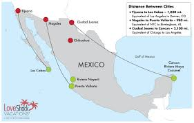 Tijuana Mexico Map The Mexico Travel Warning A Travel Agent U0027s Perspective