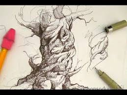 pen and ink drawing tutorials how to draw a realistic spiraling