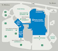 map of cleveland clinic directions parking medina hospital