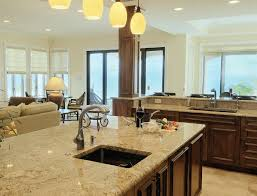 Open Floor Plan Kitchen Dining Living Room Delighful Kitchen Island Open To Living Room Ideas Family Concept