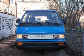 toyota van the turtle but mine had no rear windows was a panel van my