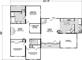 Floor Plans For Modular Homes Floor Plans Champion 581 Manufactured And Modular Homes