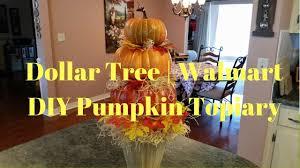 pumpkin topiary dollar tree walmart diy pumpkin topiary farmhouse pumpkin