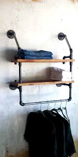 Industrial Closet Organizer - best 25 pipe closet ideas on pinterest closet system laundry