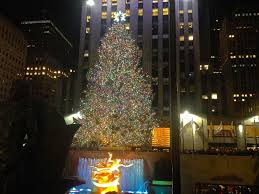 the christmas tree in rockefeller center christmas lights decoration