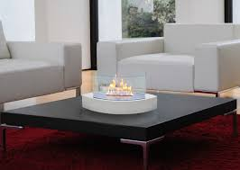 anywhere fireplace lexington tabletop fireplace in white blazing
