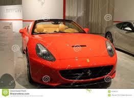Ferrari California Convertible - new italian convertible sports car editorial photo image 43785131
