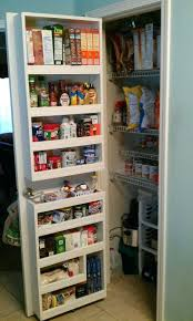 pantry shelving unit door ingredient organizers shelf paper home