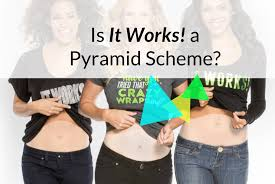 that wrap thing is it works a pyramid scheme on the level