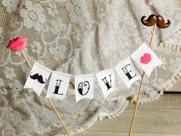 vons wedding cakes mustaches wedding cake topper banner 2407143 weddbook