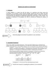 genetics worksheet answers 100 images genetics basics