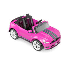 toddler mustang car power wheels smart drive ford mustang 12 volt ride on pink