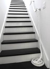 nautical staircases with railing and bannister