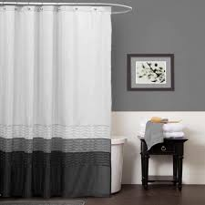 Shower Curtains With Matching Accessories Bathroom Shower Curtain And Matching Accessories Black And Grey
