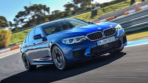 first bmw m5 2018 bmw m5 meets its predecessors on track