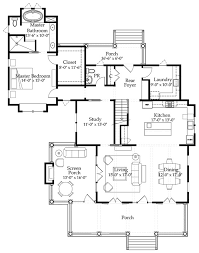 southern living floor plans river place cottage southern living house plans