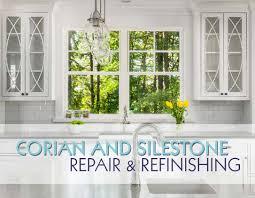 Corian Countertop Refinishing Corian And Silestone Refinishing