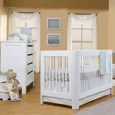 babyletto modo 3 in 1 convertible crib modern white crib modern white and gold trellis lattice girls