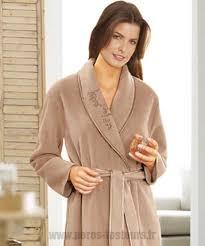 robe de chambre damart beau vison robe de chambre damart en molleton polaire 105 cm douceur