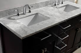 Bathroom Vanities Usa by Virtu Usa Md 2060 Wmsq Es Caroline 60 Inch Bathroom Vanity With