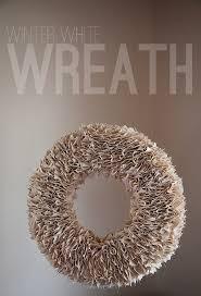 diy winter white wreath tutorial whipperberry
